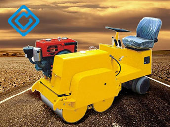 Powered Walk-behind Road Roller